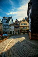 Marburg Cobbled Street
