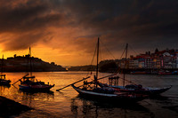 Sunset on Douro River