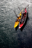 """Colour Image"", Day, ""Iberian Peninsula"", Moored, ""No People"", Outdoors, Photography, ""Porto District - Portugal"", Portugal, ""Rabble Boat"", ""River Douro"", Tourism, Tradition, ""Traditionally Portuguese"