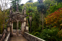 Gazebo on the Ornate Bridge of Quinta da Regaleira