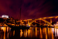 Dom Luis I Bridge at Night