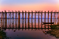 U-Bein Bridge, Mandalay, Myanmar (Burma)
