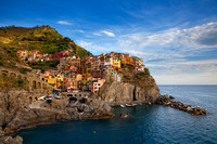 "Beach, ""Building Exterior"", ""Cinque Terre"", ""Cinque Terre National Park"", Coastline, Day, ""Elevated View"", ""Fishing Village"", Hill, Horizontal, House, Idyllic, ""Italian Culture"", Italy, Liguria, ""Ligu"