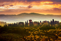 Tuscany's Sunset