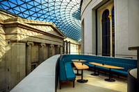 "Architecture, ""Arts Culture and Entertainment"", Bar, Bench, Benugo, ""British Culture"", ""British Museum"", ""Built Structure"", ""Capital Cities"", Ceiling, Coffee, ""Colour Image"", Court, Courthouse, Cultur"