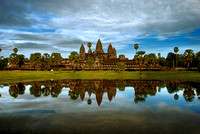Angkor Wat, the Khmer Temple