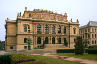 Rudolfinum in the Old Town of Prague