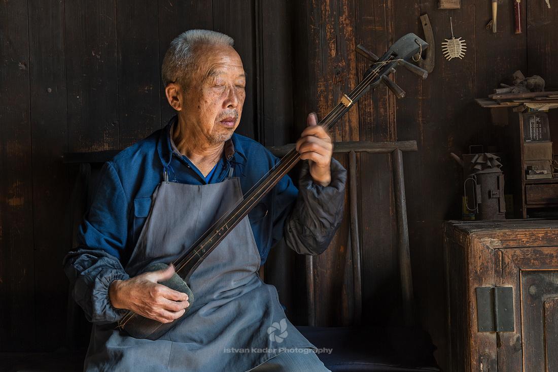 Simple Tunes on the Sanxian