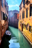 Backstreet Canals of Venice