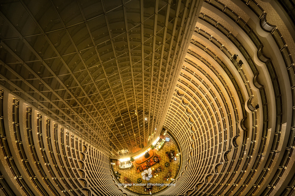 Grand Hyatt Hotel's Atrium, Jin Mao Tower, Shanghai