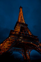 """Eiffel Tower"", Night, ""Paris - France"", Illuminated, Architecture, France, ""French Culture"", ""Building Exterior"", ""Capital Cities"", ""Colour Image"", ""Famous Place"", ""Gold Coloured"", ""International Lan"